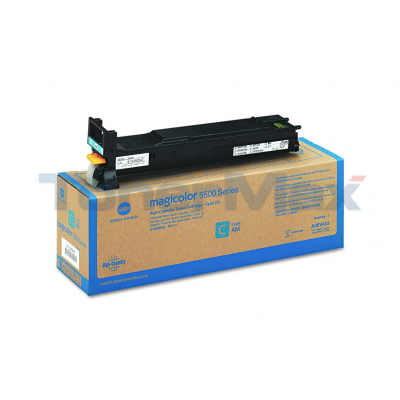 KONICA MINOLTA MAGICOLOR 5550 120V TONER CYAN 12K